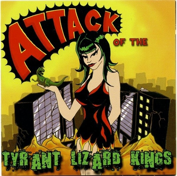The Tyrant Lizard Kings - Attack Of